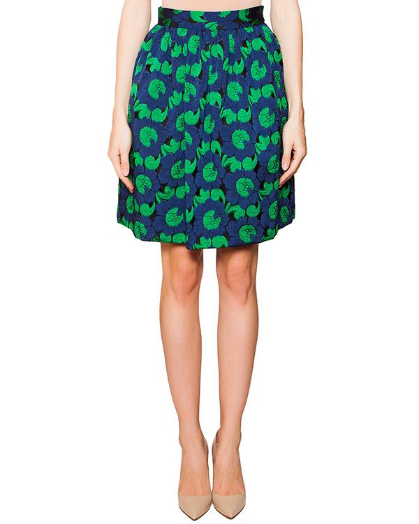 юбка с цветочной вышивкой артикул PAPRIKA620110 марки P.A.R.O.S.H. купить за 8900 руб.