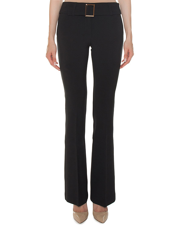 брюки клеш из эластичного крепа артикул PASTELLO230210 марки P.A.R.O.S.H. купить за 23800 руб.