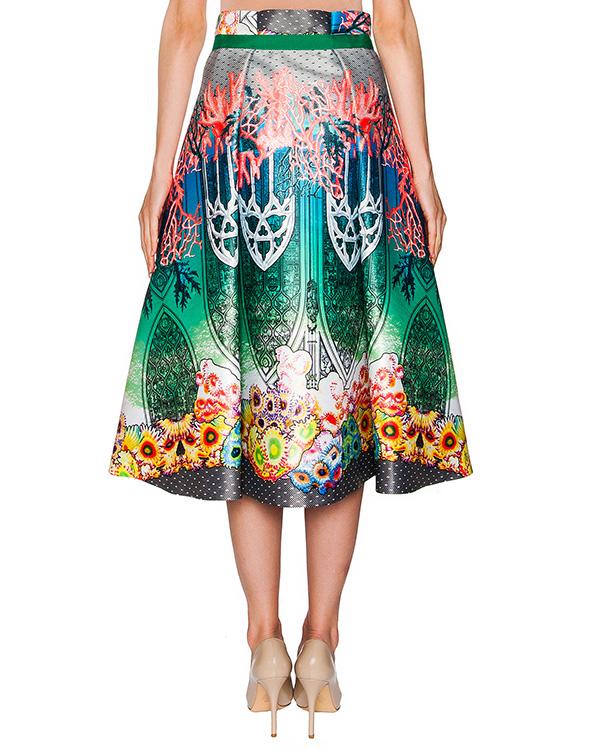 женская юбка Piccione piccione, сезон: лето 2016. Купить за 18100 руб. | Фото 2