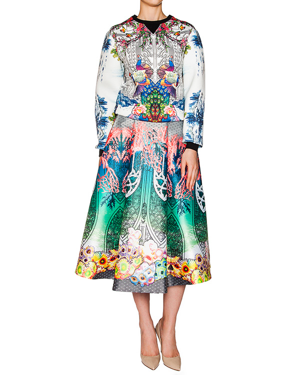 женская юбка Piccione piccione, сезон: лето 2016. Купить за 18100 руб. | Фото 3