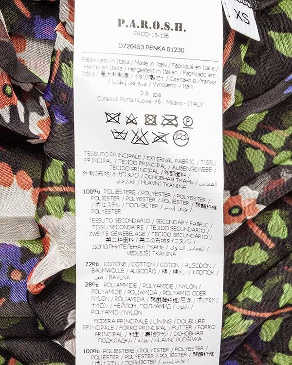 женская платье P.A.R.O.S.H., сезон: лето 2016. Купить за 23700 руб. | Фото 5