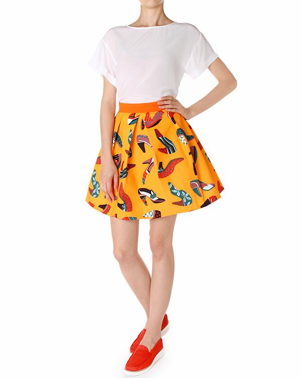 женская юбка EGGS, сезон: лето 2014. Купить за 8700 руб. | Фото 3