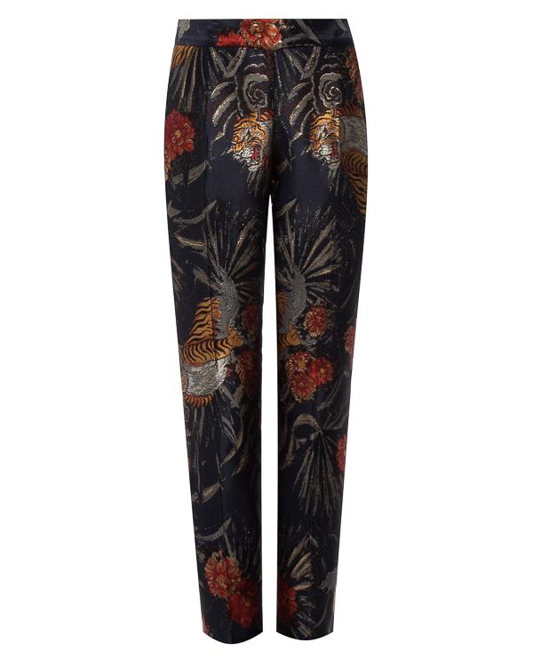 брюки из расшитой парчи артикул PIGER230049 марки P.A.R.O.S.H. купить за 21700 руб.