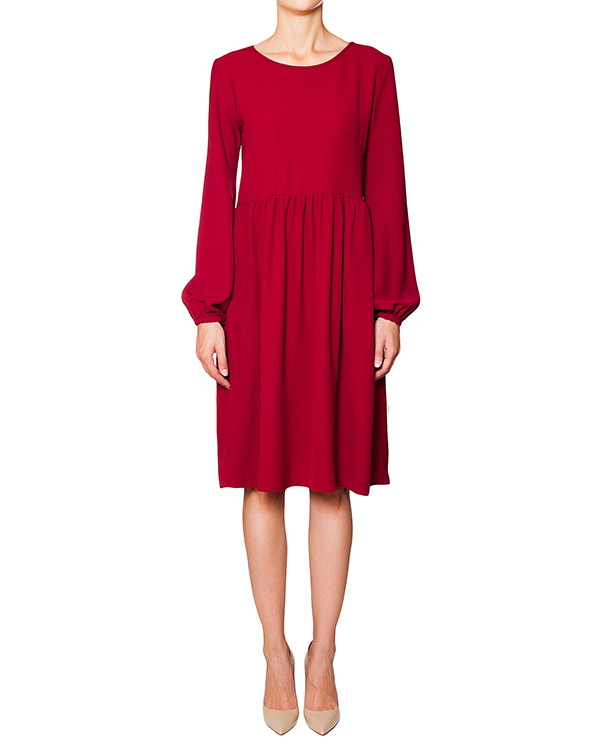 платье свободного кроя из мягкого трикотажа артикул PIRATA720240 марки P.A.R.O.S.H. купить за 8700 руб.