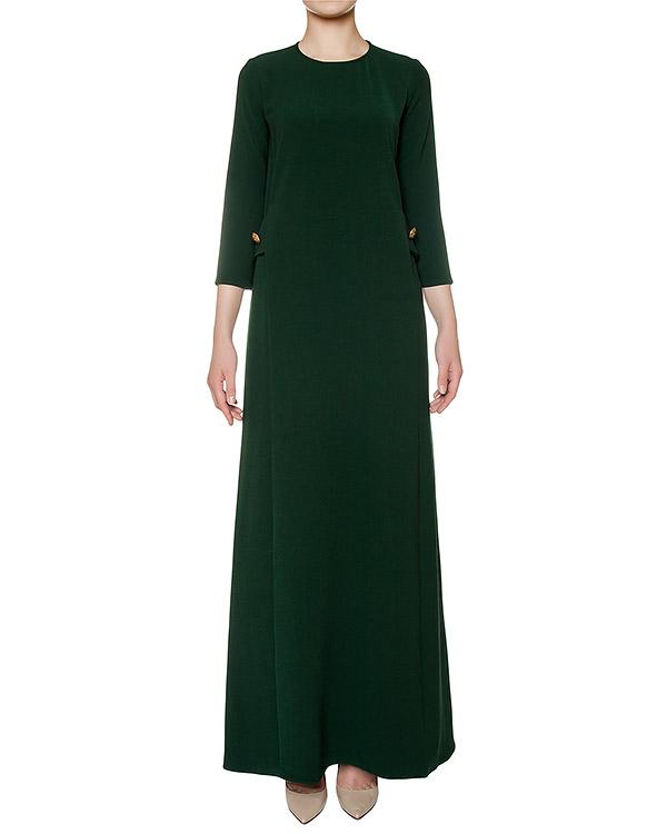 платье слегка приталенного кроя из плотной ткани артикул PIRATAX721065 марки P.A.R.O.S.H. купить за 12600 руб.