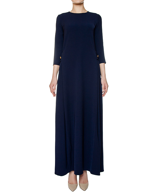 платье слегка приталенного кроя из плотной ткани артикул PIRATAX721070 марки P.A.R.O.S.H. купить за 15900 руб.