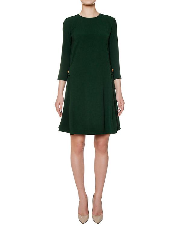 платье слегка приталенного кроя из плотной ткани артикул PIRATAX730177 марки P.A.R.O.S.H. купить за 11900 руб.