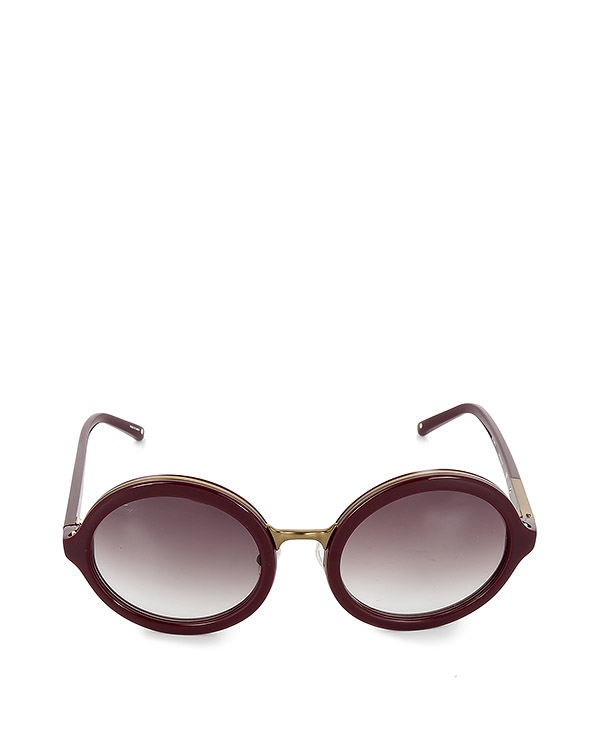 очки из японского полированного ацетата артикул PL11C21SUN марки Linda Farrow купить за 20900 руб.