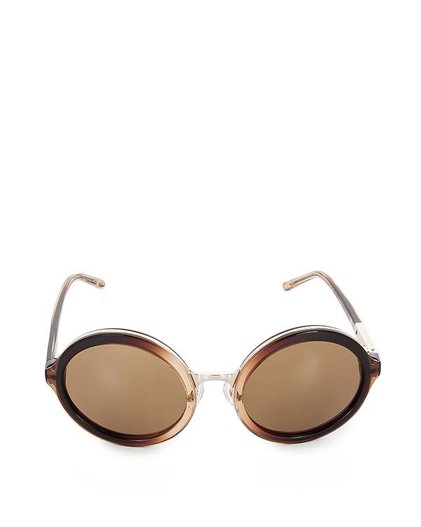 очки из японского полированного ацетата артикул PL11C29SUN марки Linda Farrow купить за 20900 руб.