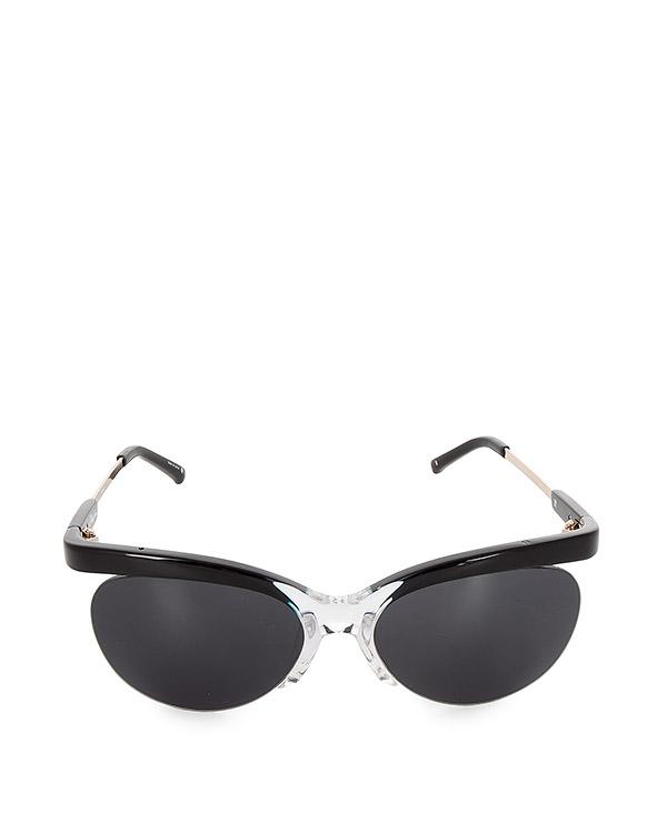очки оригинального дизайна из японского полированного ацетата артикул PL160C1SUN марки Linda Farrow купить за 19700 руб.