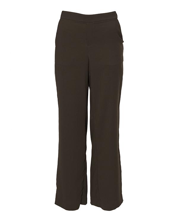 брюки свободного силуэта из крепа  артикул POSEIDON230087E марки P.A.R.O.S.H. купить за 17100 руб.