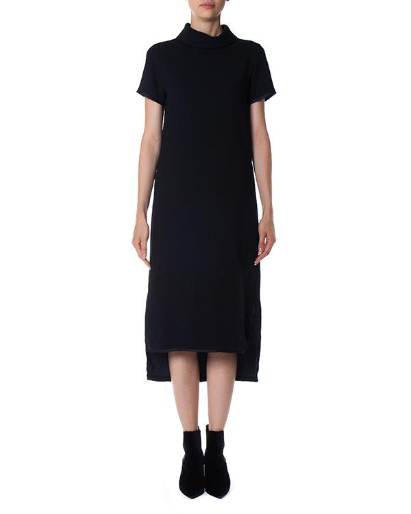 платье миди асимметричной длины  артикул POSEIDON721380 марки P.A.R.O.S.H. купить за 21900 руб.