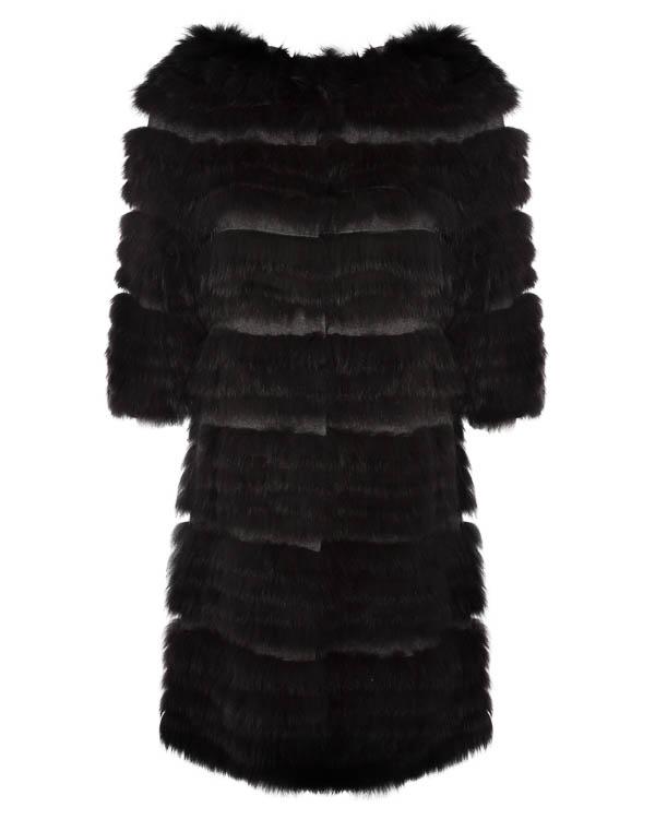 пальто из кашемира и шерсти с меховой отделкой артикул PRINCESS95 марки P.A.R.O.S.H. купить за 40500 руб.