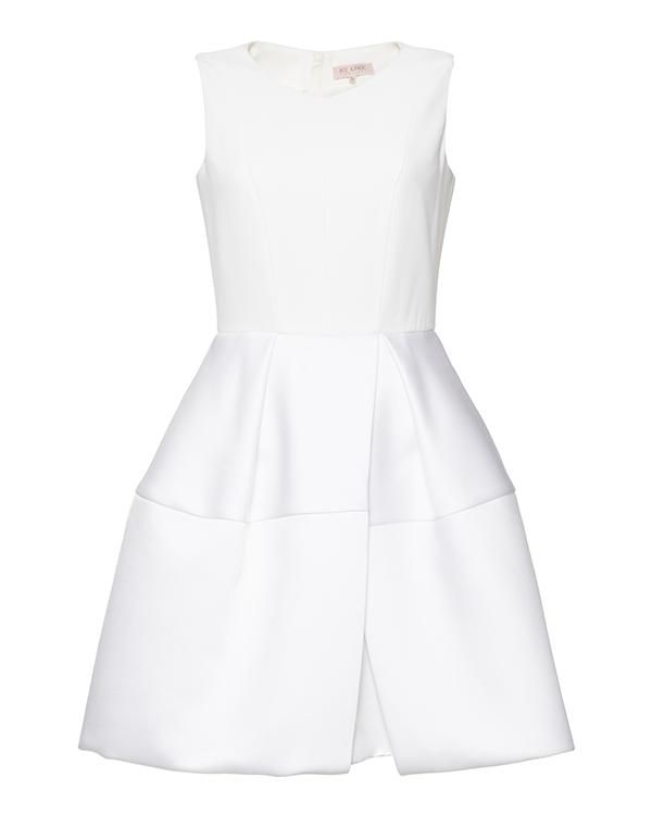 платье с пышной юбкой, выполнено из плотного атласа артикул PS1160002564 марки Dice Kayek купить за 38000 руб.