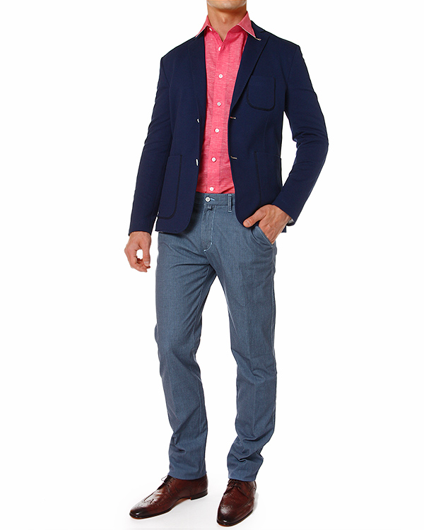 мужская пиджак PAOLO PECORA, сезон: лето 2014. Купить за 11100 руб. | Фото 3