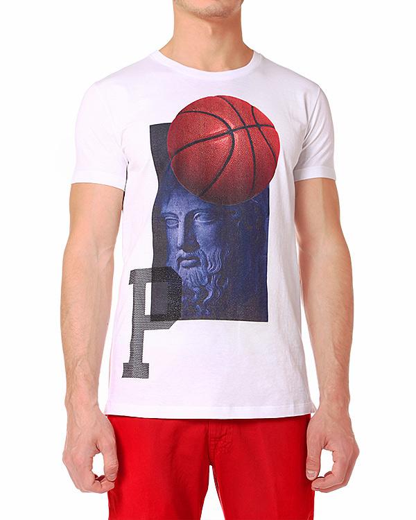 мужская футболка PAOLO PECORA, сезон: лето 2014. Купить за 3500 руб. | Фото 1