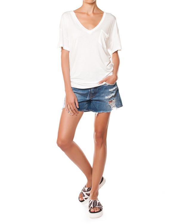 женская футболка (+)People, сезон: лето 2015. Купить за 3200 руб. | Фото 3