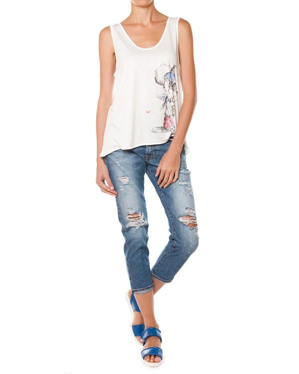 женская джинсы (+)People, сезон: лето 2015. Купить за 11200 руб. | Фото $i