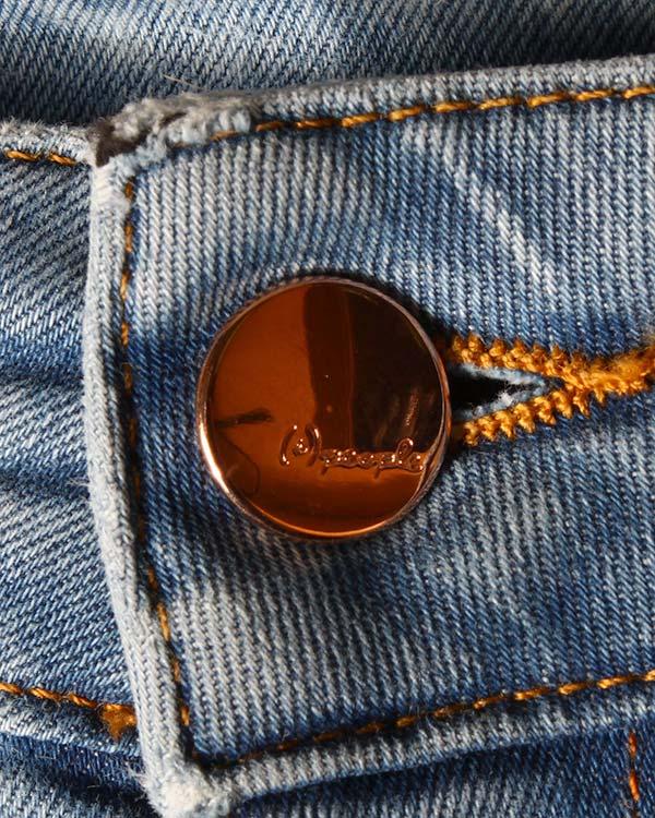 женская джинсы (+)People, сезон: лето 2015. Купить за 10200 руб. | Фото 4