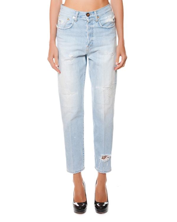 женская джинсы (+)People, сезон: лето 2015. Купить за 15200 руб. | Фото 1