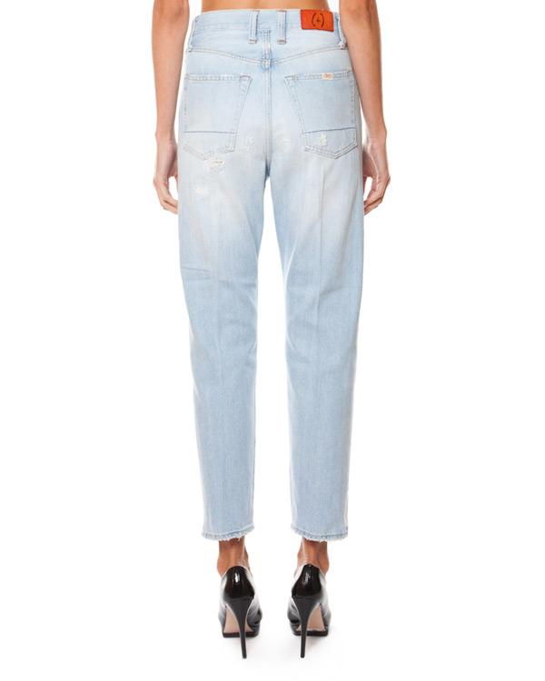 женская джинсы (+)People, сезон: лето 2015. Купить за 15200 руб. | Фото 2