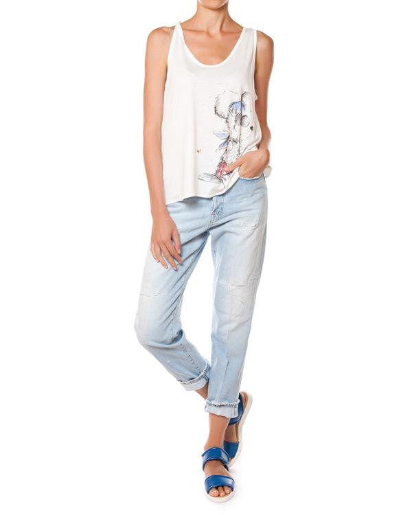 женская джинсы (+)People, сезон: лето 2015. Купить за 15200 руб. | Фото 3