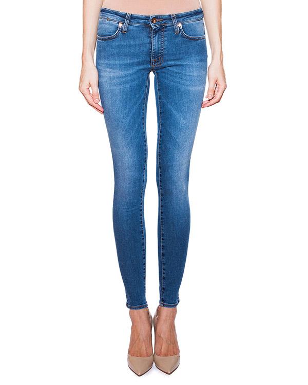 женская джинсы (+)People, сезон: лето 2015. Купить за 9100 руб. | Фото 1