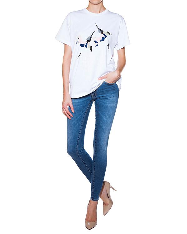 женская джинсы (+)People, сезон: лето 2015. Купить за 9100 руб. | Фото 3