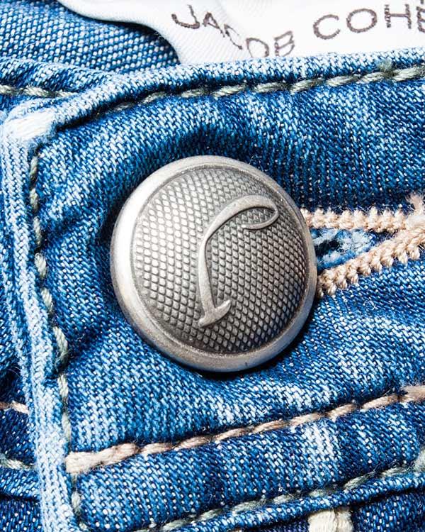 мужская джинсы Jacob Cohen, сезон: лето 2016. Купить за 15800 руб.   Фото 4