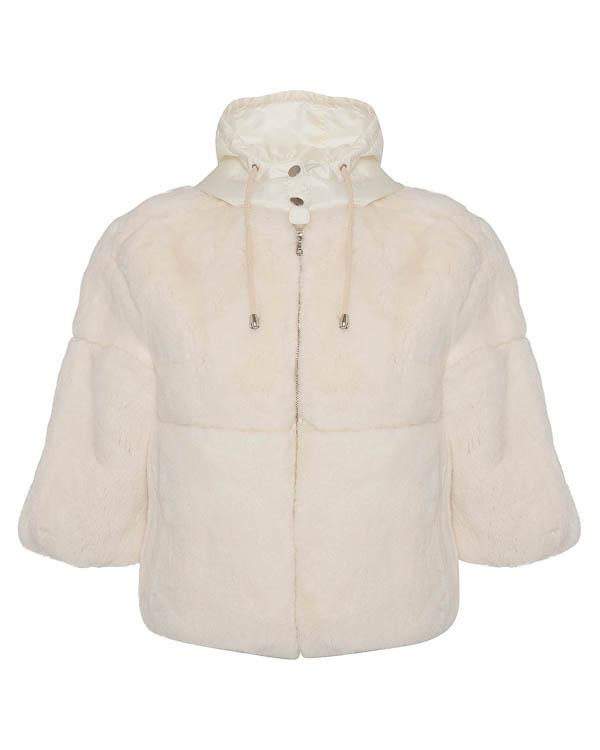 мех.куртка из кролика с капюшоном  артикул QUARK460525 марки P.A.R.O.S.H. купить за 44900 руб.