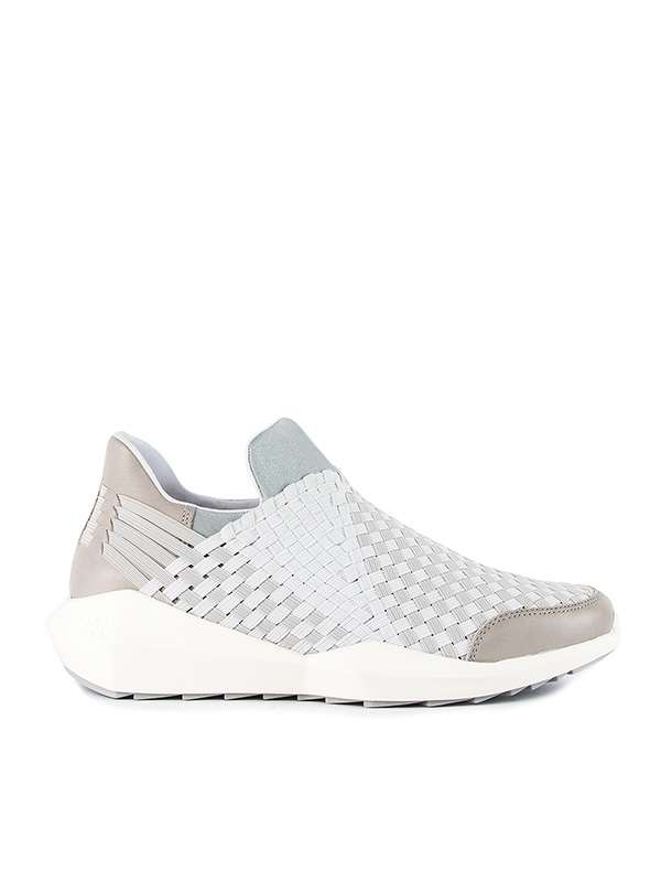 кроссовки с архитектурной подошвой и плетеной отделкой артикул QUARTZM марки ASH купить за 7800 руб.