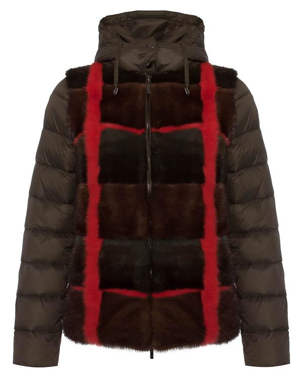 женская куртка P.A.R.O.S.H., сезон: зима 2015/16. Купить за 77300 руб. | Фото 1