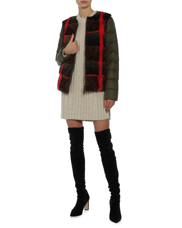женская куртка P.A.R.O.S.H., сезон: зима 2015/16. Купить за 77300 руб. | Фото 4