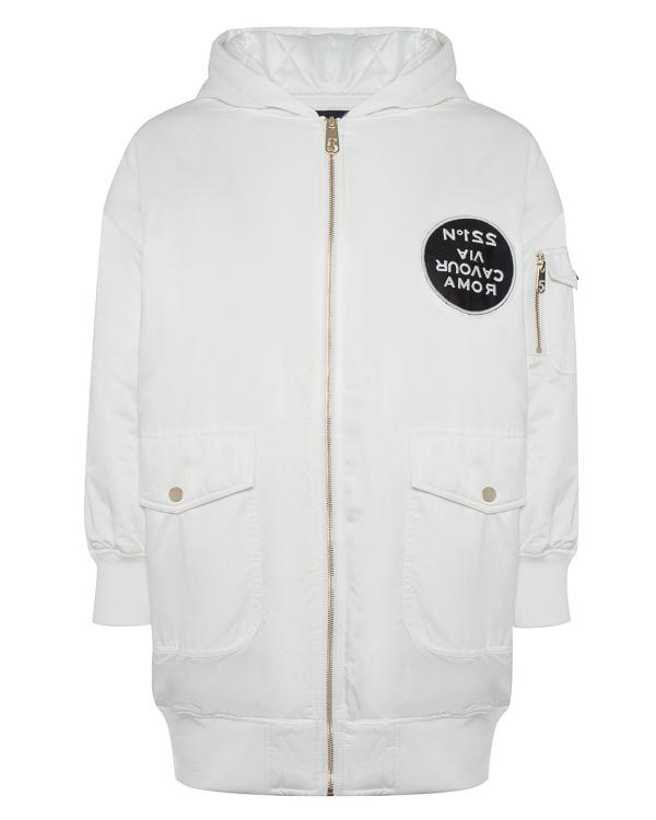 куртка удлиненного силуэта с капюшоном артикул R031-5P марки 5Preview купить за 16300 руб.