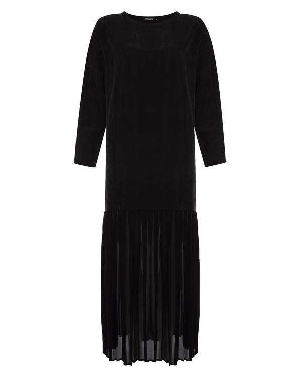 платье макси с плиссированной отделкой артикул R193 марки 5Preview купить за 13000 руб.