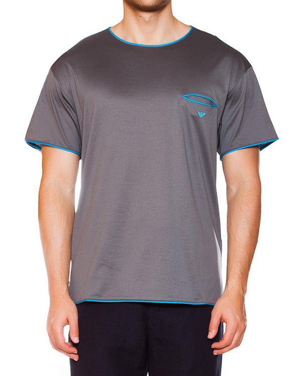 мужская футболка EMPORIO ARMANI, сезон: лето 2015. Купить за 6300 руб. | Фото 1