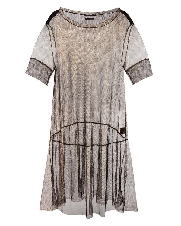 платье из полупрозрачной сетки артикул R209 марки 5Preview купить за 23400 руб.