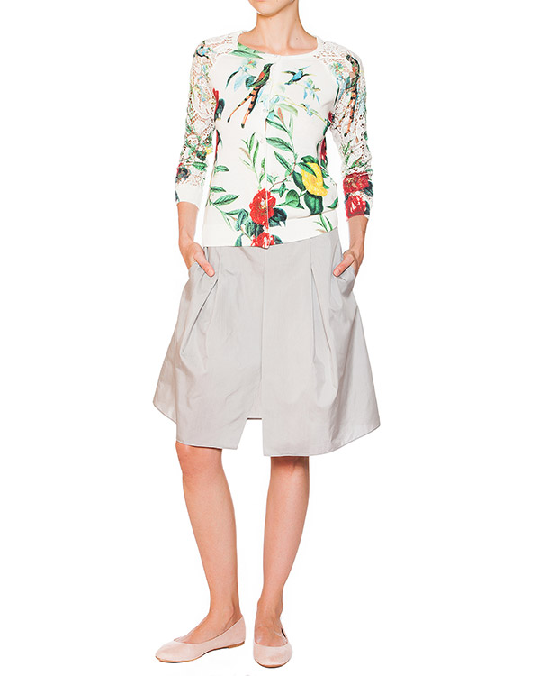 женская юбка EMPORIO ARMANI, сезон: лето 2015. Купить за 9400 руб. | Фото 3