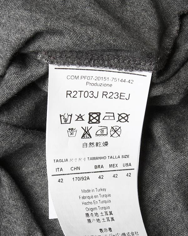 женская футболка EMPORIO ARMANI, сезон: лето 2015. Купить за 6700 руб. | Фото 5