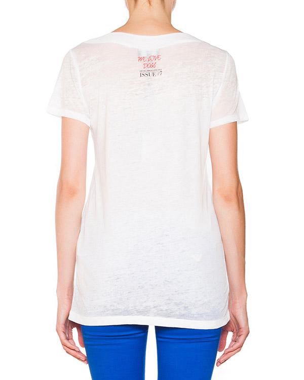 женская футболка EMPORIO ARMANI, сезон: лето 2015. Купить за 7000 руб. | Фото 2