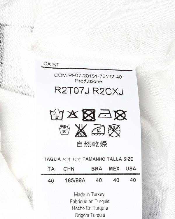 женская футболка EMPORIO ARMANI, сезон: лето 2015. Купить за 7000 руб. | Фото 5