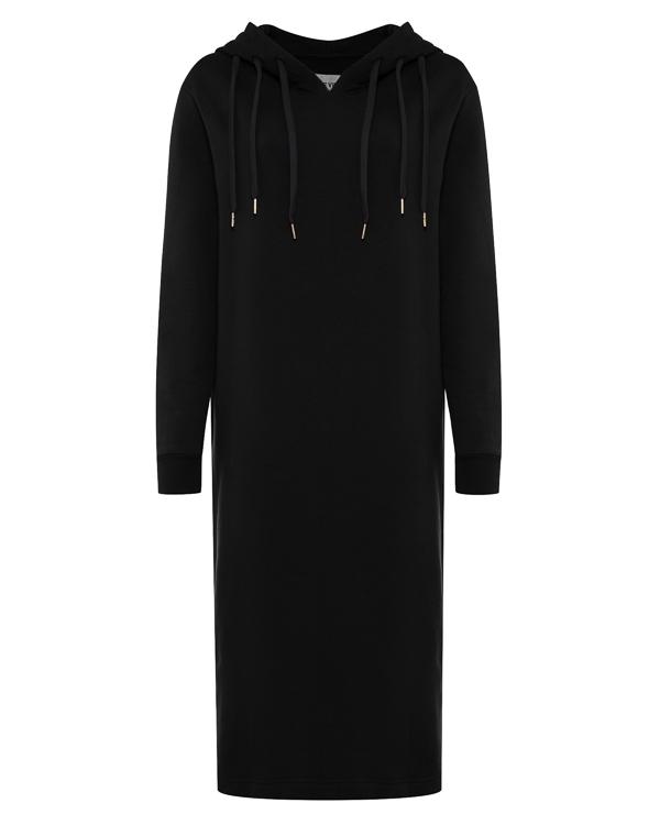 платье миди с капюшоном и принтом на спине артикул R351 марки 5Preview купить за 15500 руб.