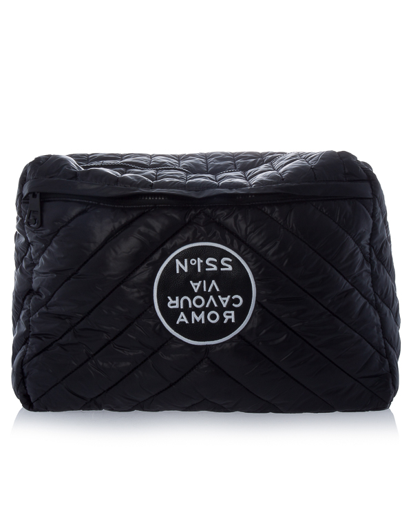 сумка из стеганого материала с аппликацией артикул R504 марки 5Preview купить за 9800 руб.