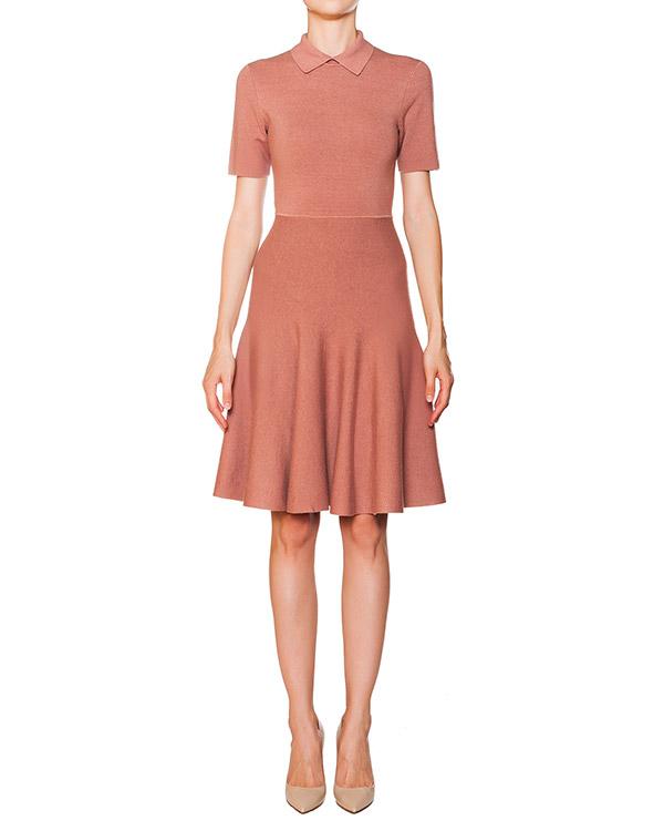 платье расклешенного силуэта из эластичного трикотажа артикул RAMY550542 марки P.A.R.O.S.H. купить за 11000 руб.
