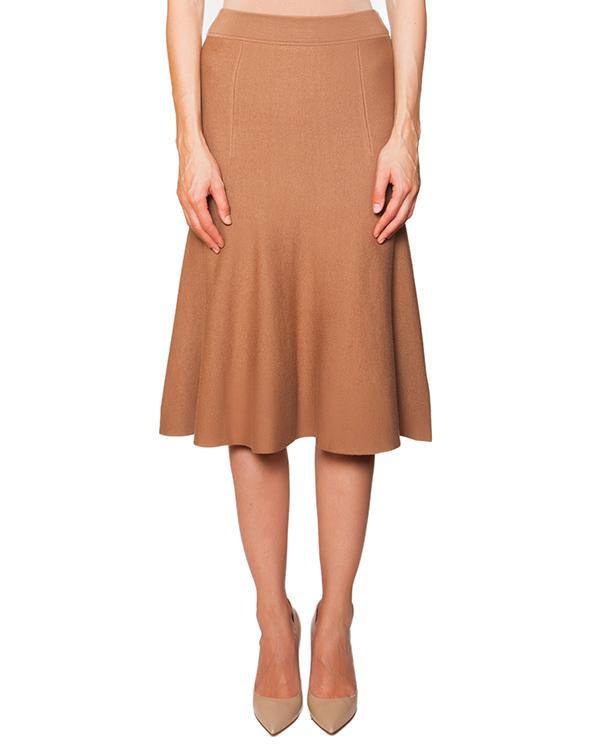 юбка из мягкого полушерстяного трикотажа артикул RAMY560515 марки P.A.R.O.S.H. купить за 7300 руб.