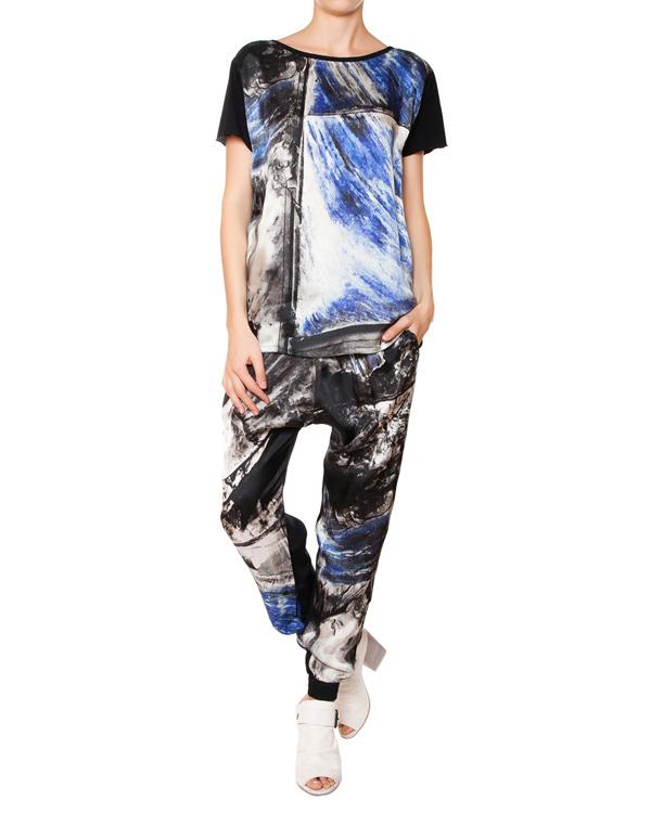 женская брюки ROQUE ILARIA NISTRI, сезон: лето 2015. Купить за 12800 руб. | Фото 3