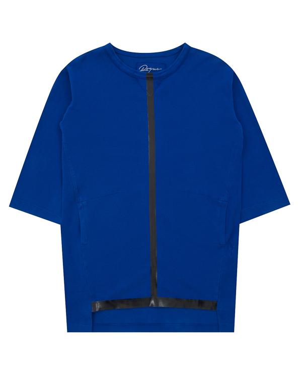 платье спортивного кроя с глянцевой отделкой артикул RGAX681/4 марки ROQUE ILARIA NISTRI купить за 18600 руб.