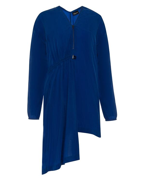 платье асимметричного кроя из тонкого материала купро артикул RGAY719/9 марки ROQUE ILARIA NISTRI купить за 20900 руб.