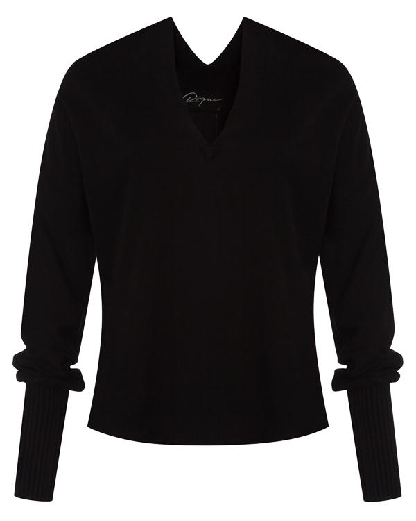 пуловер из трикотажного хлопка артикул RGMX668/1 марки ROQUE ILARIA NISTRI купить за 17100 руб.