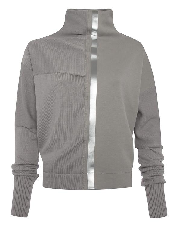 свитер концептуального стиля из комбинированного трикотажа артикул RGMX716/4 марки ROQUE ILARIA NISTRI купить за 22400 руб.